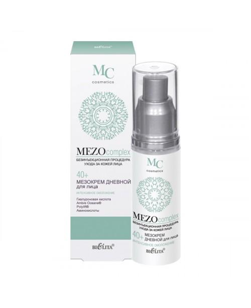 MEZOcomplex_МЕЗОКРЕМ денний для обличчя 40+, Інтенсивне омолодження, 50 мл