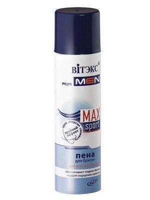 VITEX for MEN sport MAX ПЕНА для бритья для всех типов кожи, 250 мл