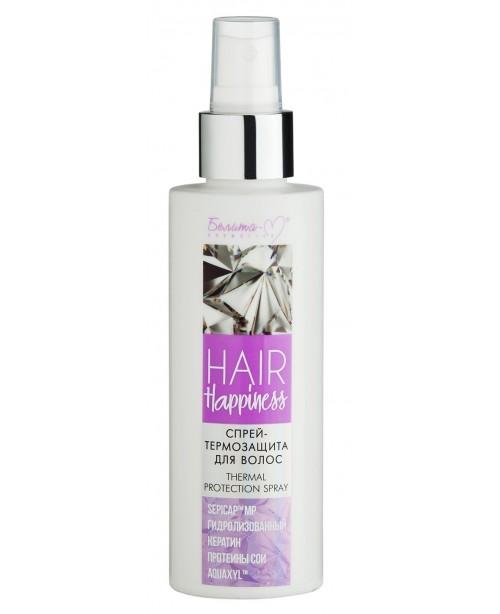 Hair Happiness_ СПРЕЙ-ТЕРМОЗАХИСТ для волосся, 150 мл