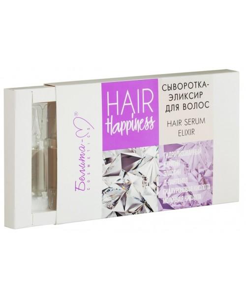 Hair Happiness_ СИРОВАТКА-ЕЛІКСИР для волосся, 8 шт. х 5 мл