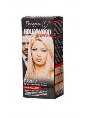 КРЕМ-ФАРБА стійка для волосся Hollywood color_ тон 329 Pamela (сріблястий блондин)