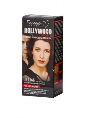 КРЕМ-КРАСКА стойкая для волос Hollywood color_ тон 398 Jillian (темно-махагоновый)
