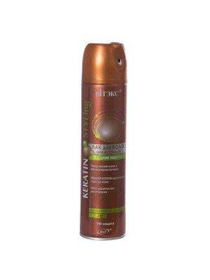 KERATIN STYLING ЛАК для волос невесомый с жидким кератином С/С фиксации, 300мл