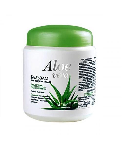 Aloe vera_БАЛЬЗАМ для жирного волосся Щоденне оздоровлення, 450 мл
