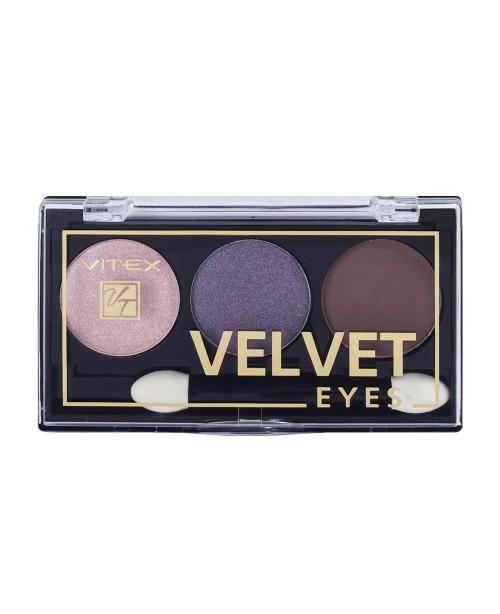 ТІНІ Компактні для повік VELVET EYES_ тон 02 Royal Violet