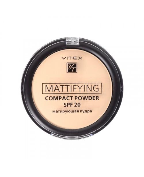 ПУДРА Матуюча компактна для обличчя Mattifying compact powder SPF20_ тон 03