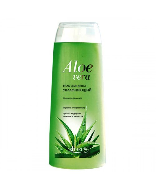 Aloe vera_ГЕЛЬ для душу, що зволожує, 500 мл