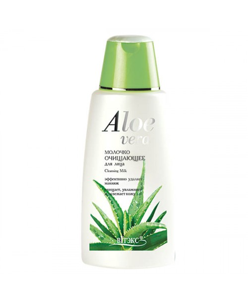 Aloe vera_МОЛОЧКО очищаюче для обличчя, 180 мл