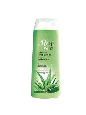 597, Aloe vera_ШАМПУНЬ-КОНДИЦІОНЕР для сухого і нормального волосся, 500 мл, 99105, 59.00грн, , , Шампунь