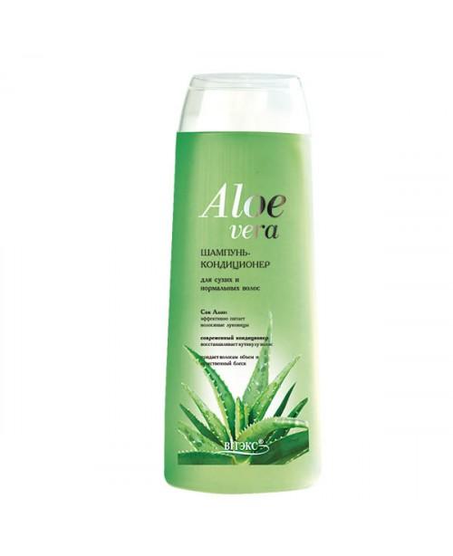 Aloe vera_ШАМПУНЬ-КОНДИЦІОНЕР для сухого і нормального волосся, 500 мл