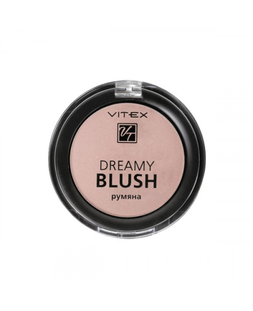 РУМ'ЯНА Компактні DREAMY BLUSH_ тон 104