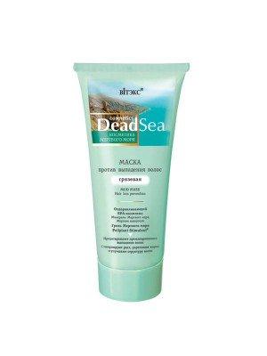 Косметика Мертвого моря_МАСКА проти випадіння волосся грязьова, 200 мл