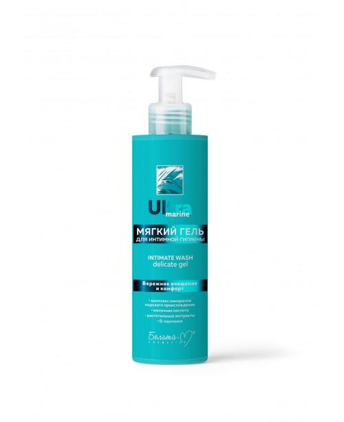 Ultra marine_ ГЕЛЬ мягкий для интимной гигиены, 190 г