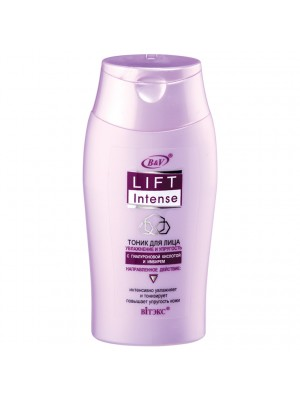 Lift Intense_ТОНІК для обличчя Зволоження та пружність з гіалуроновою кислотою та імбиром, 150 мл