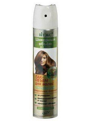ШИКАРНЫЙ ОБЪЕМ  ЛАК-ОБЪЕМ  протеиновый  С/С фиксации для всех типов волос,300мл