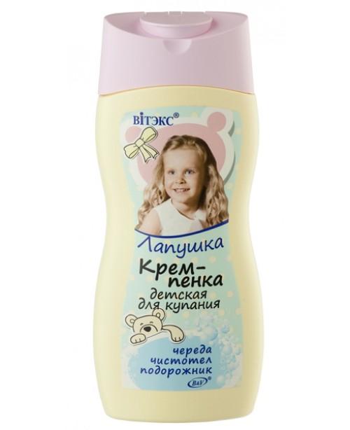 Лапушка_КРЕМ-ПІНКА дитяча для купання, 300 мл