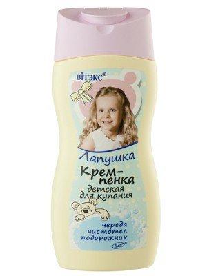 ЛАПУШКА КРЕМ-ПЕНКА детская для купания 300мл