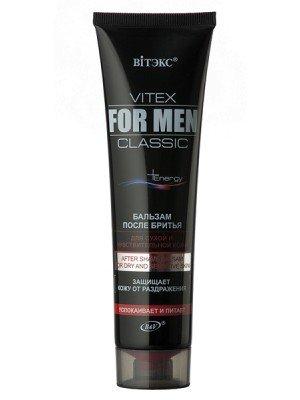 VITEX FOR MEN CLASSIC_БАЛЬЗАМ після гоління для сухої і чутливої шкіри, 100 мл