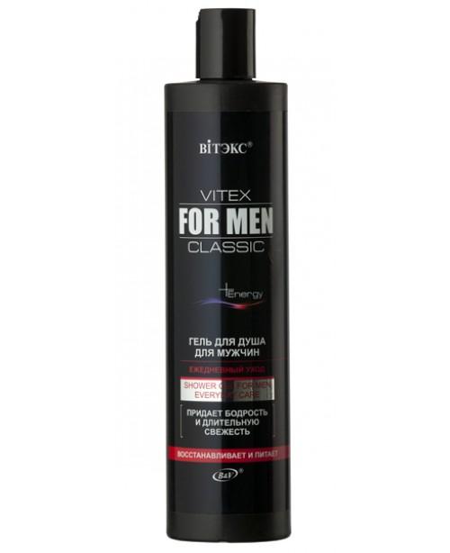 VITEX FOR MEN CLASSIC_ГЕЛЬ для душу для чоловіків щоденний догляд, 400 мл