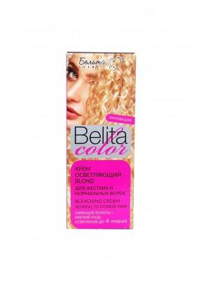 """КРАСКА стойкая с витаминами для волос Belita сolor_ КРЕМ осветляющий """"Blond"""" для жестких и нормальных волос"""