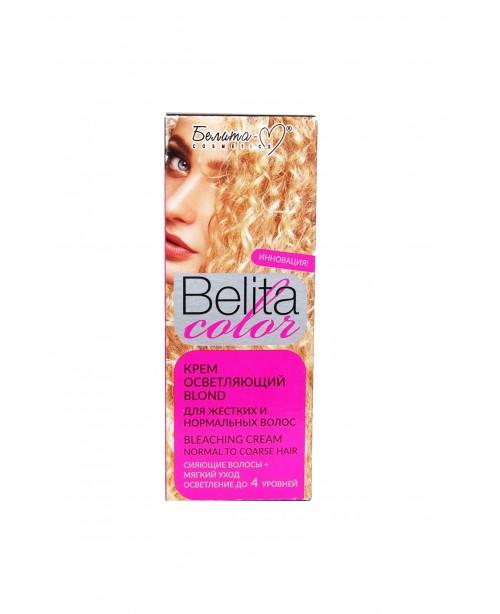 """ФАРБА стійка з вітамінами для волосся Belita сolor_ КРЕМ освітлюючий """"Blond"""" для жорст і норм вол-ся"""