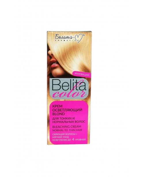 """ФАРБА стійка з вітамінами для волосся Belita сolor_ КРЕМ освітлюючий """"Blond"""" для тонкого і норм в-ся"""