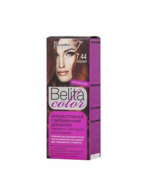 КРАСКА стойкая с витаминами для волос Belita сolor_ тон 07.44 Медный