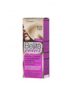 КРАСКА стойкая с витаминами для волос Belita сolor_ тон 09.03 Саванна