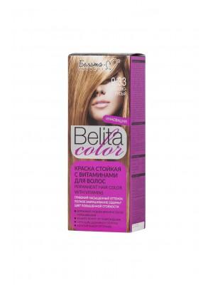 КРАСКА стойкая с витаминами для волос Belita сolor_ тон 09.33 Орехово-русый
