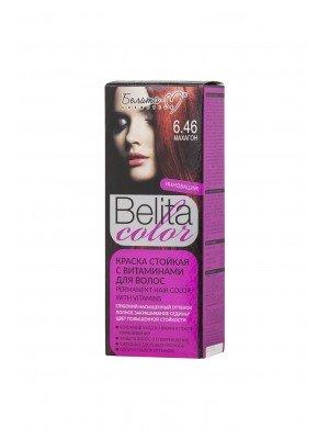 КРАСКА стойкая с витаминами для волос Belita сolor_ тон 06.46 Махагон