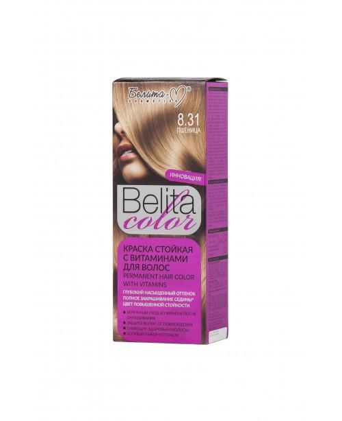ФАРБА стійка з вітамінами для волосся Belita сolor_ тон 08.31 Пшениця