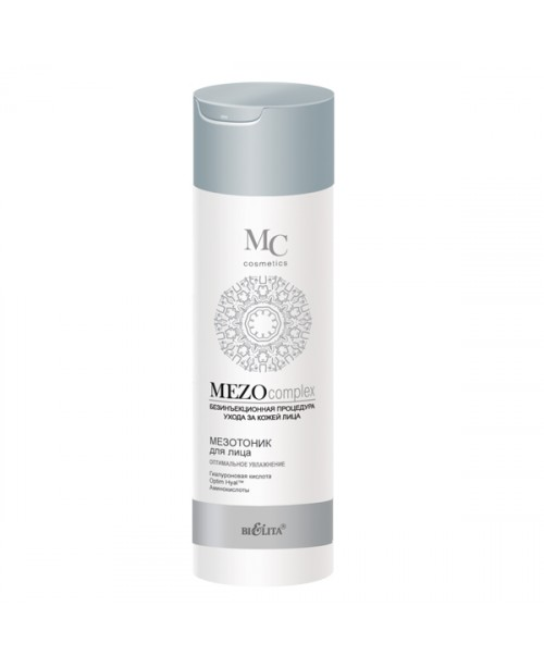 MEZOcomplex_МЕЗОТОНІК для обличчя Оптимальне зволоження, 200 мл