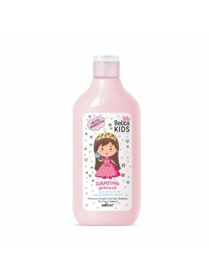 Belita Kids. Для дівчат 3-7 років_ ШАМПУНЬ детский для легкого расчесывания волос Мечты принцесы, 300 мл