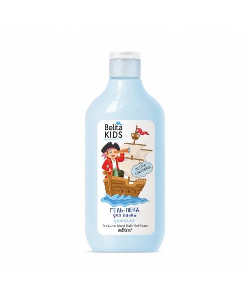 Belita Kids. Для хлопчиків 3-7 років_ ГЕЛЬ-ПІНА для ванни Острів скарбів, 300 мл