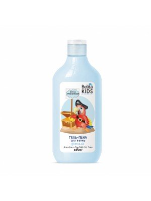 Belita Kids. Для мальчиков 3-7 лет_ ГЕЛЬ-ПЕНА для ванны Бухта приключений, 300 мл