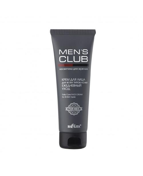 MENS CLUB Крем для лица для всех типов кожи Ежедневный уход, 75 мл