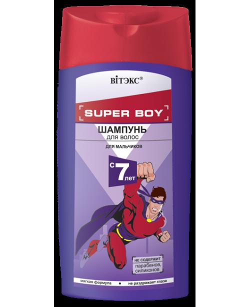 SUPER BOY_ШАМПУНЬ для волосся для хлопчиків з 7 років, 275 мл