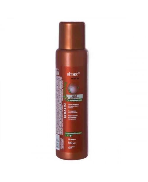 KERATIN STYLing_ЛАК для волосся з рідким кератином с/с фіксації, 500 мл