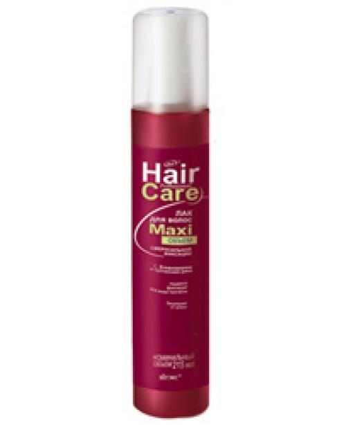Лак для волосся_ЛАК для волосся MAXI об'єм  надсильної фіксації, 215 мл