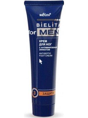 Bielita for men Крем для ног с антимикробным эффектом, 100мл