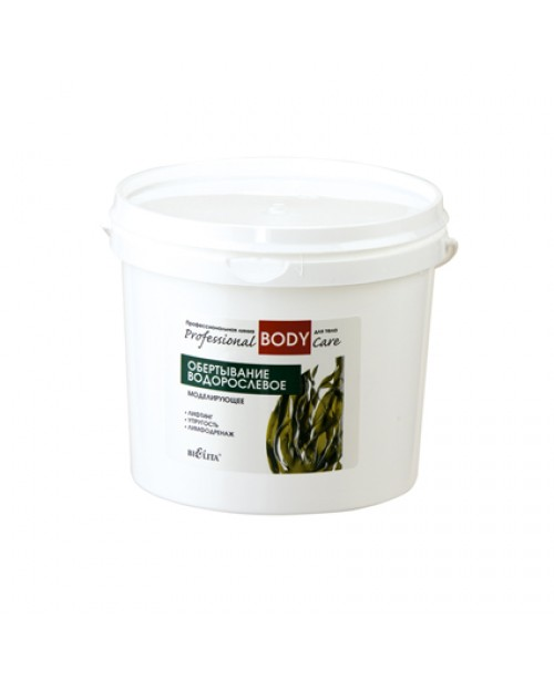 Prof BODY CARE_ОБГОРТАННЯ водорослеве моделююче, 1,0 кг