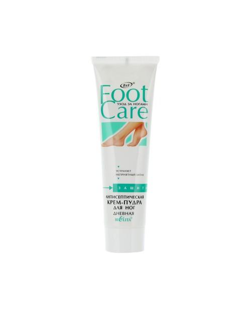 Догляд за ногами Foot care_КРЕМ-ПУДРА антисептична для ніг, 100 мл