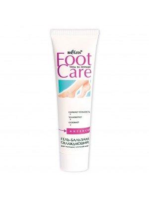 """Foot care Гель-бальзам охлаждающий для """"горящих"""" ступней ног, 100 мл"""