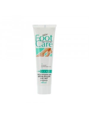 Foot care Крем-пудра антисептическая для ног, 100 мл