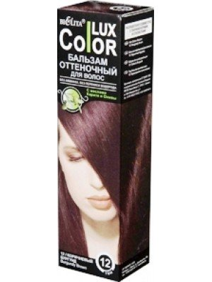 Бальзам оттеночный для волос ТОН 12 коричневый бургунд , 100 мл