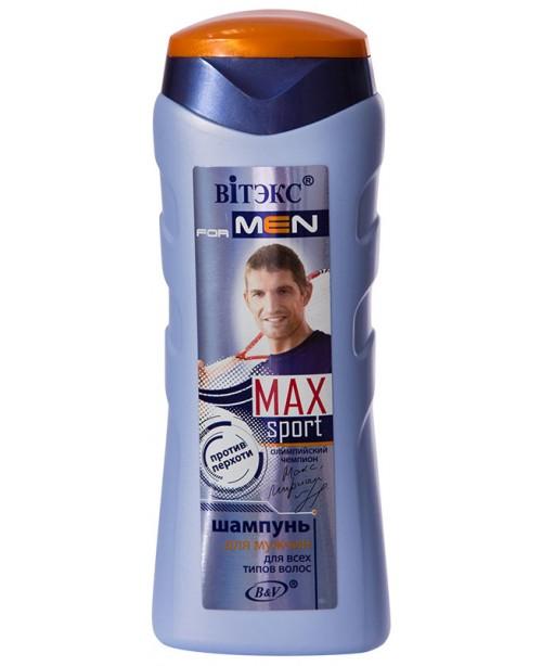 VITEX for MEN sport MAX_ШАМПУНЬ для всіх типів волосся, 250 мл