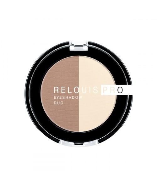 ТІНІ для повік Relouis Pro Eyeshadow Duo_ тон 102, 3 г