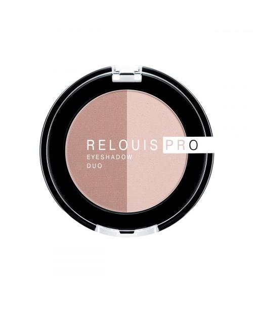 ТІНІ для повік Relouis Pro Eyeshadow Duo_ тон 101, 3 г