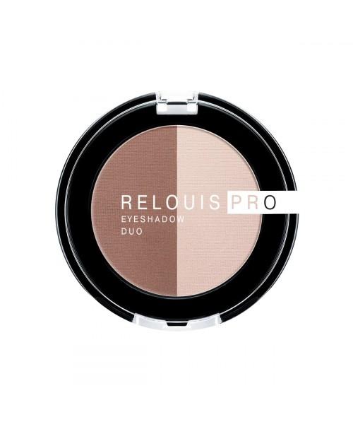 ТІНІ для повік Relouis Pro Eyeshadow Duo_ тон 104, 3 г
