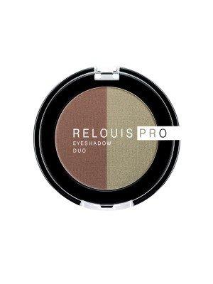 ТІНІ для повік Relouis Pro Eyeshadow Duo_ тон 110, 3 г